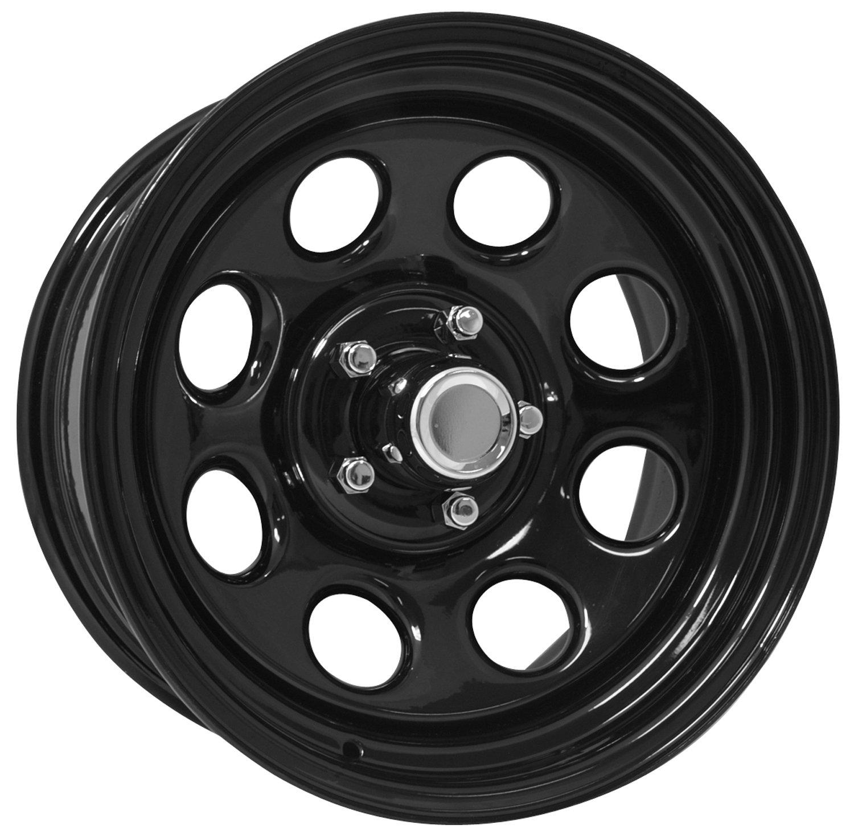 Pro Comp Steel Wheels Series 98 Wheel with Gloss Black Finish (16x10''/8x6.5'')