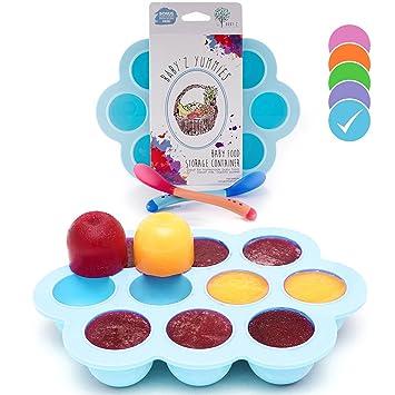 USA Standard- BPA Free | Homemade Baby Food u0026 Frozen Breastmilk Freezer Storage Silicone Tray  sc 1 st  Amazon.com & Amazon.com : USA Standard- BPA Free | Homemade Baby Food u0026 Frozen ...