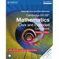 Cambridge International IGCSE: Cambridge IGCSE (R) Mathematics Core and Extended Coursebook with CD-ROM and IGCSE Mathematics Online Revised Edition