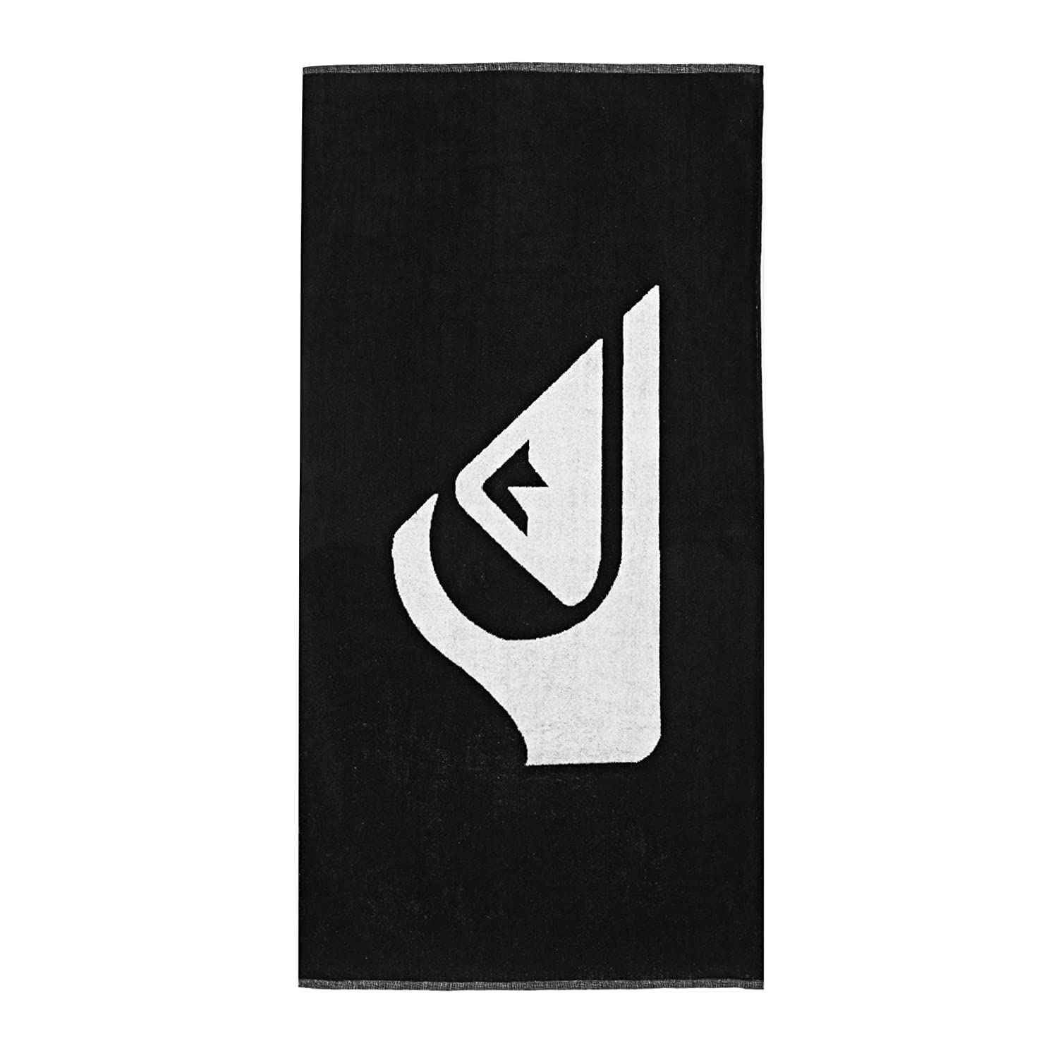 Quiksilver Woven Logo-Beach Towel For Men, anthracite Solid, One size QISS5|#Quiksilver EQYAA03108