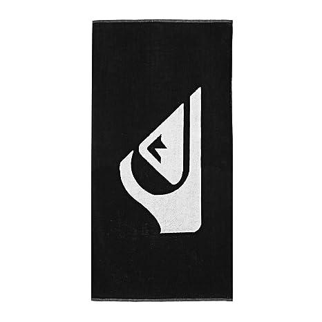 Quiksilver Woven Logo Toalla, Hombre, Black, Talla Única