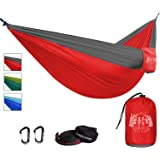 Double Parachute Hammock Set for Camping - Portable & Ultra Light