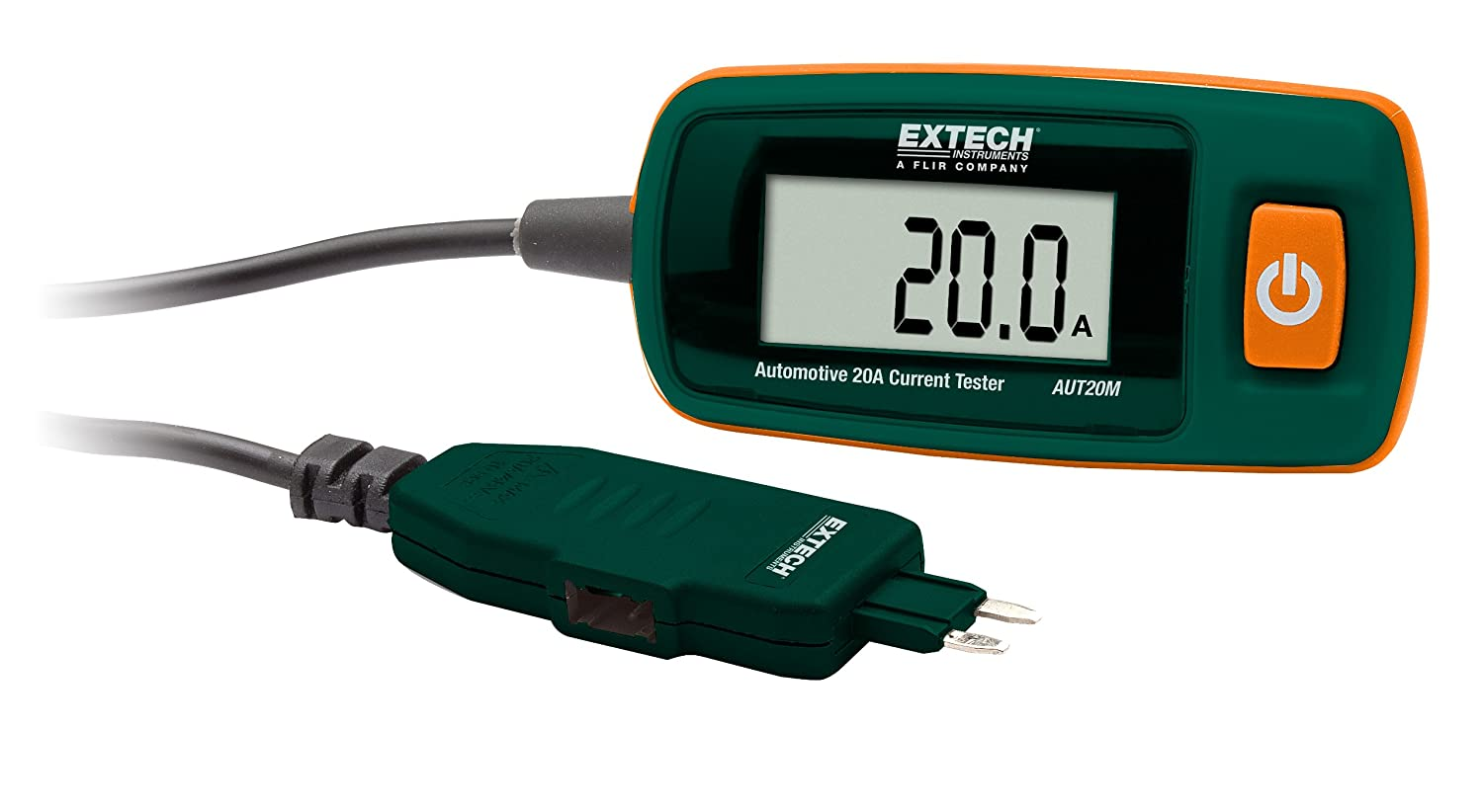 Extech AUT20M Automotive 20A Current Tester-Mini Fuse FLIR Systems