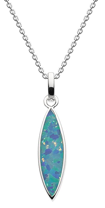 Dew Sterling Silver Marquise Necklace sTn9O1