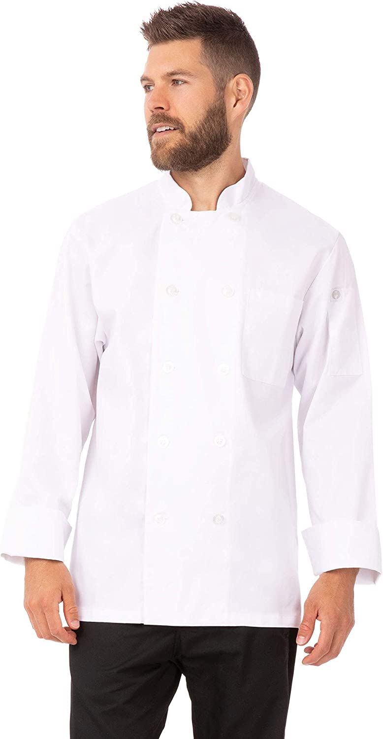 Chef Works Unisex Le Mans Chef Coat Kochjacke
