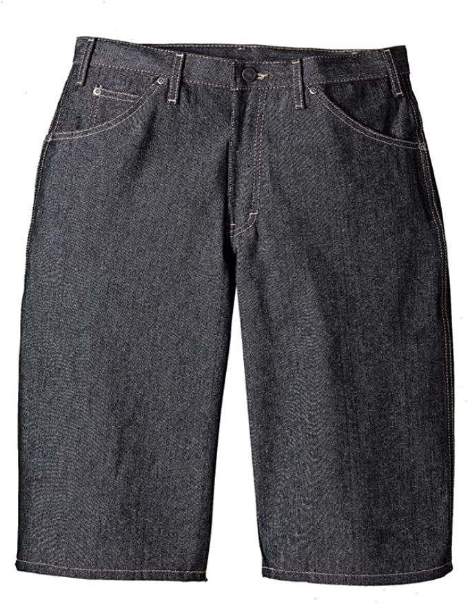 sold worldwide nice shoes preview of Dickies Black Denim Loose Fit Work Shorts at Amazon Men's Clothing ...