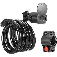 ETE ETMATE USB-fietsslot, intelligent fietsslot, met digitale vingerafdruk of bluetooth, waterdicht, telefoon-app…