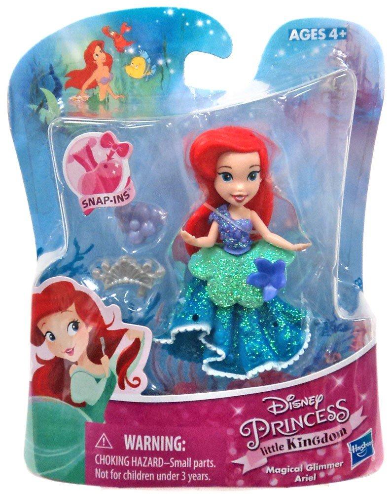 Disney Princess Little Kingdom Magical Glimmer Ariel with Snap-Ins Hasbro SG/_B01JXZAWYQ/_US