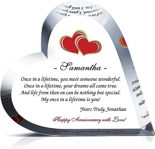 Hermosa hecha a mano de la tarjeta de día de bodas-Hombres//Mujeres Novia /& Novio Personalizado