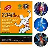 KONGDY Hot Capsicum Plaster Pain Relief Patch Large 30 Packs(7*10CM) (30pcs)