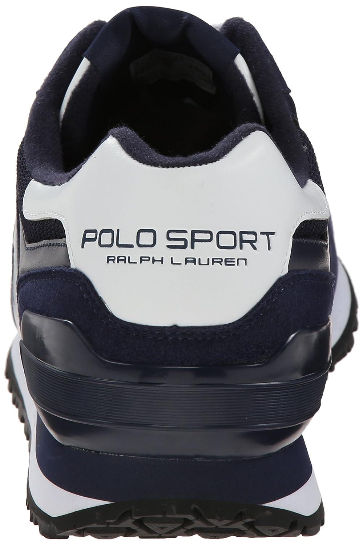 Polo Ralph Lauren Pony Slaton zapatilla de deporte de moda: Amazon ...