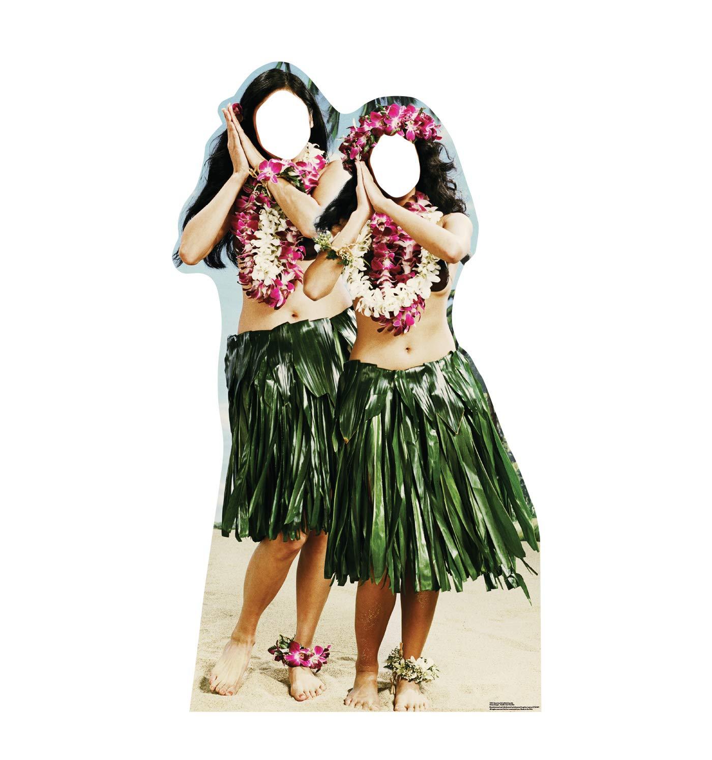 Advanced Graphics Hawaiian Hula Girls Stand-in Life Size Cardboard Cutout Standup