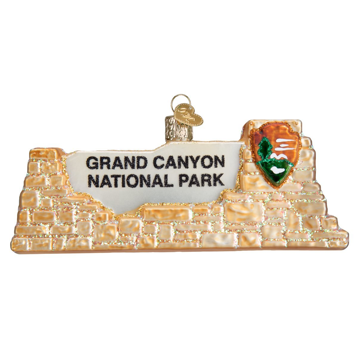 Old World Christmas Grand Canyon National Park Glass Blown Ornament