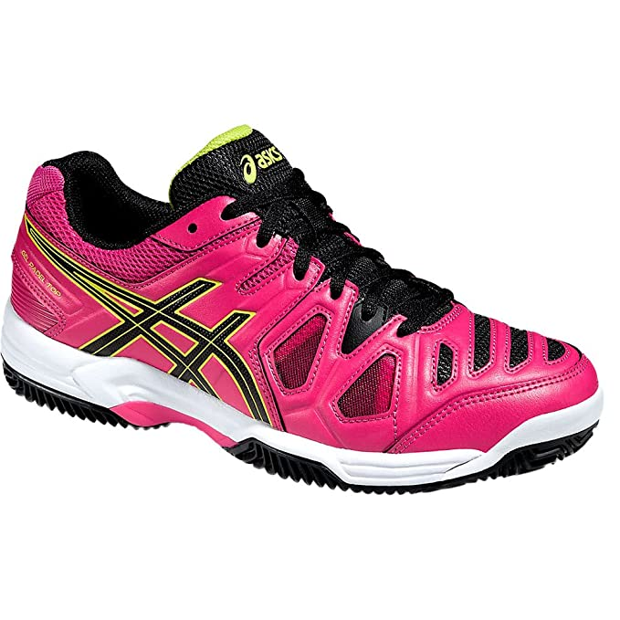 ASICS Gel Padel Top 2 SG Rosa Negro E65NJ 2190: Amazon.es ...