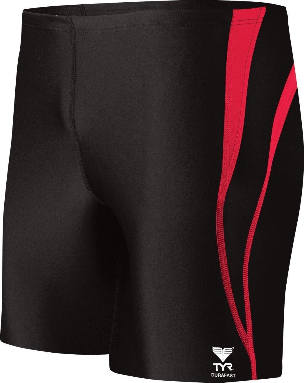Amazon.com : TYR Sport Men's Alliance Durafast Splice Square Leg Swim Suit  : Athletic Swim Briefs : Sports & Outdoors