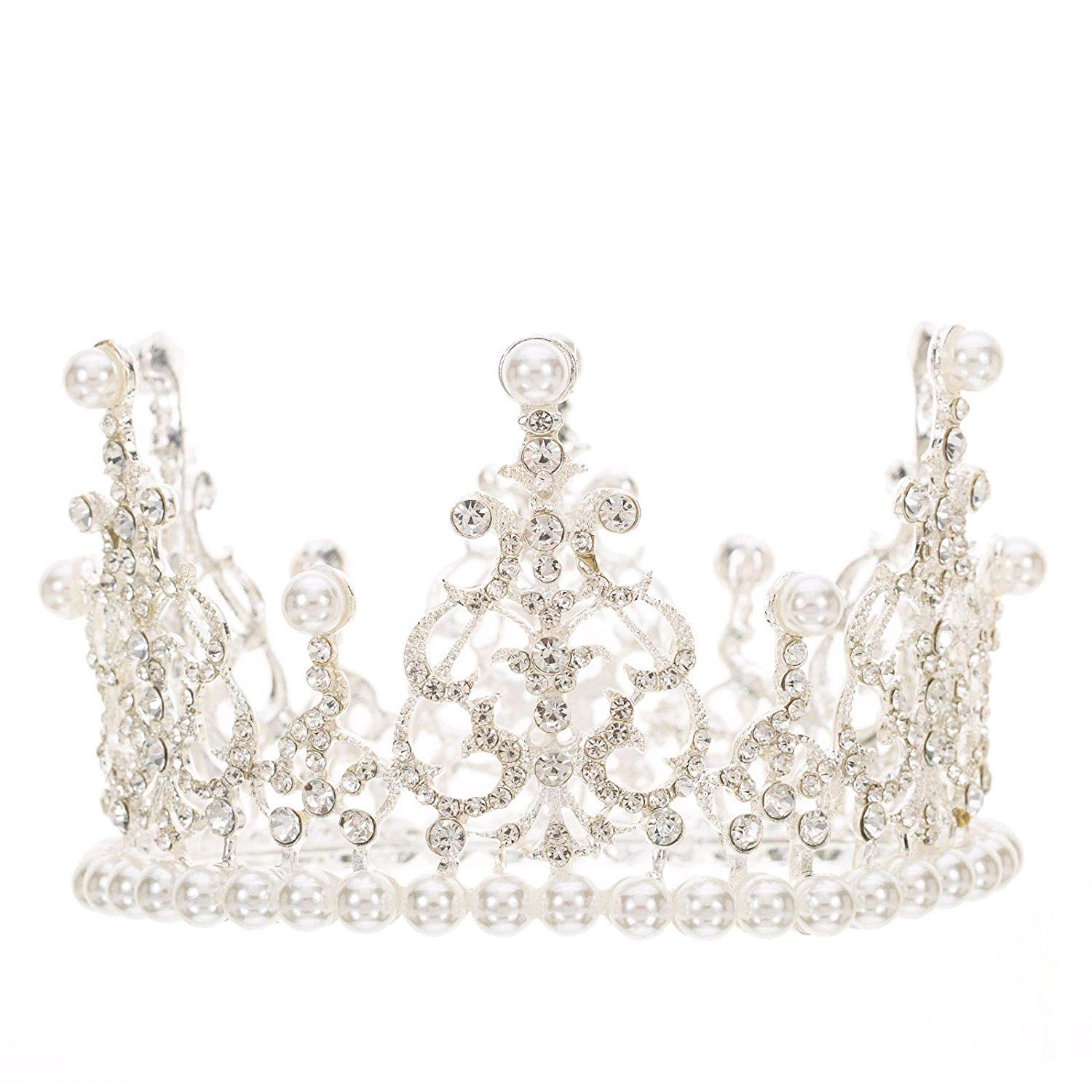 Crystal Crown, Decorative Ornaments Pearls Crowns Decorative Ornaments Ornaments Hair Bands Hair Ornaments Hairpins.