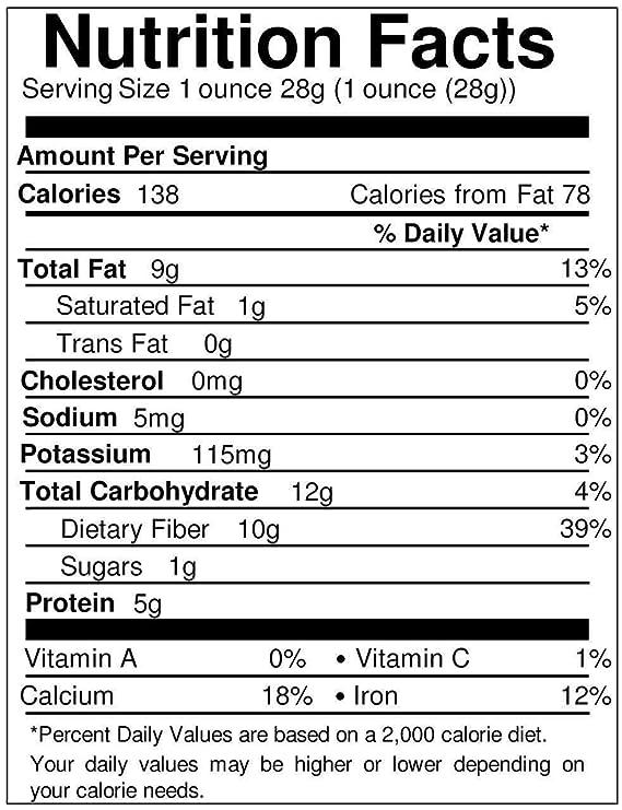 Food to Live Las semillas de chía Bio certificadas (Eco, Ecológico, crudas, Negras, sin OMG) 6.8 Kg: Amazon.es: Alimentación y bebidas
