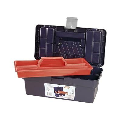 Tayg - Caja herramientas plástico nº 11: Amazon.es: Bricolaje y herramientas