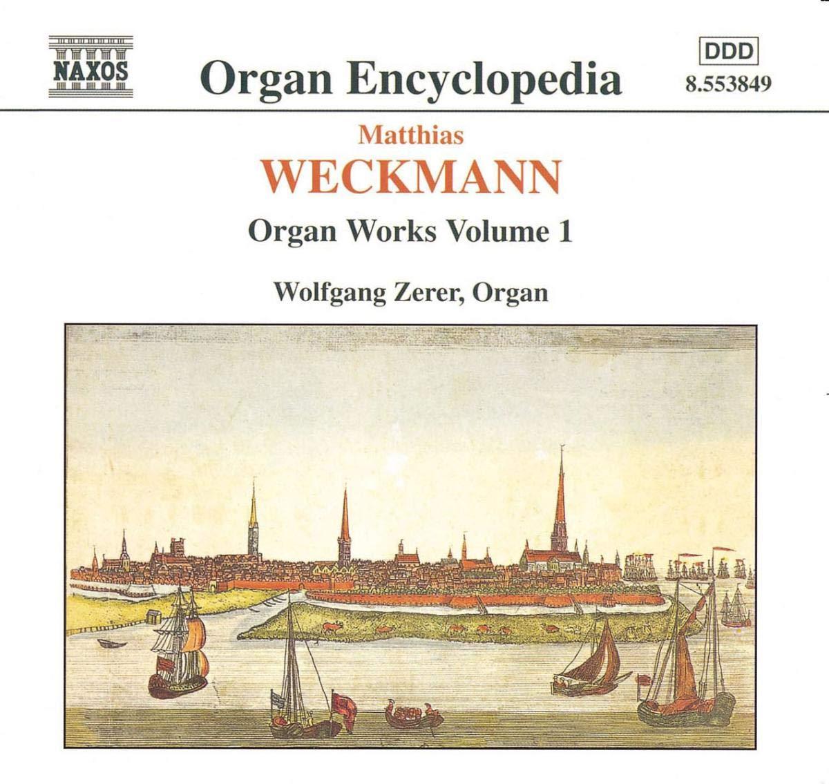 WECKMANN: Organ Works 1 Vol. Nashville-Davidson Mall Weekly update