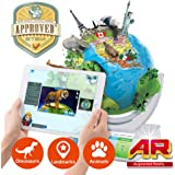 Oregon Scientific Smart Globe Explorer SG338R - Interactive Open SmartGlobe with Wireless Updatable Touch Pen Technology and 3D Augmented Reality | STEM Approved