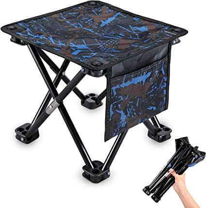 Tragbar Schemel Klappbar Stuhl Stativ BBQ Sitz Outdoor Extra groß 1 Stück