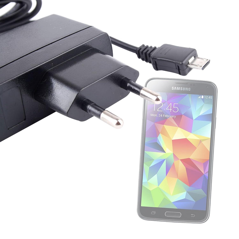 DURAGADGET Cargador De Red Europeo con Micro USB para Samsung ...