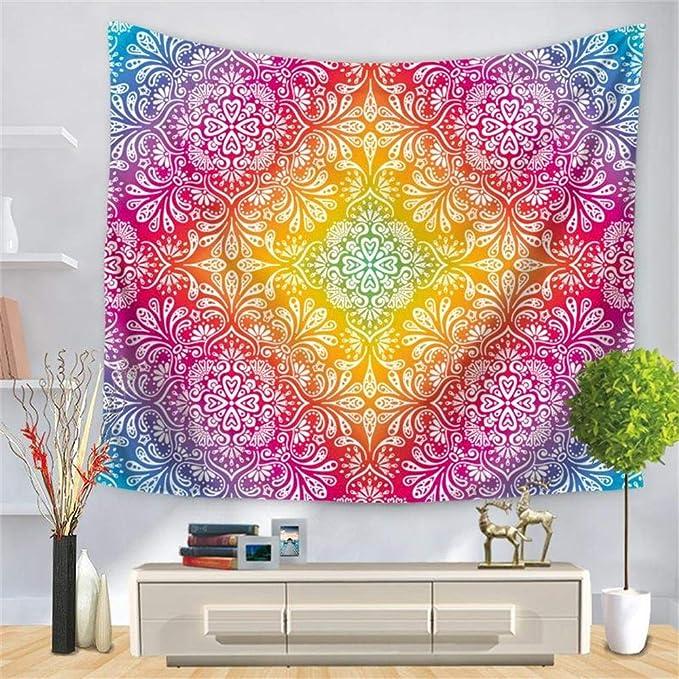PYHQ Indio Tapiz Pared,Hippie Bohemia Mandala Art,Dormitorio Fiesta Cumpleaños Habitación Decoración
