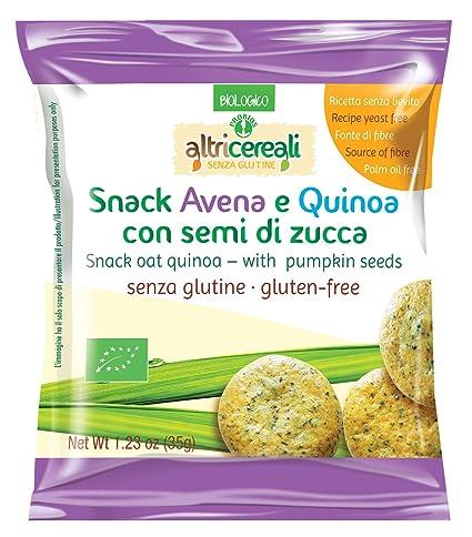 Otro Bocado del cereal avenae quinoa con semillas de calabaza Sin Gluten libre 35g