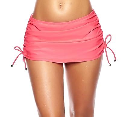 1b5968fc710fdc Raffinierter Damen Bikini/Strand Rock mit integrierter Hose/Volant f3642  Farbe: R4-