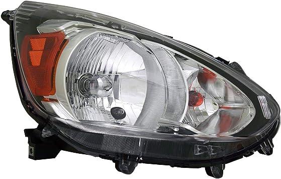 Fits Mitsubishi Mirage Space Star 2016 17 Head Lamp Light Cover Chrome Trim 2 Pc