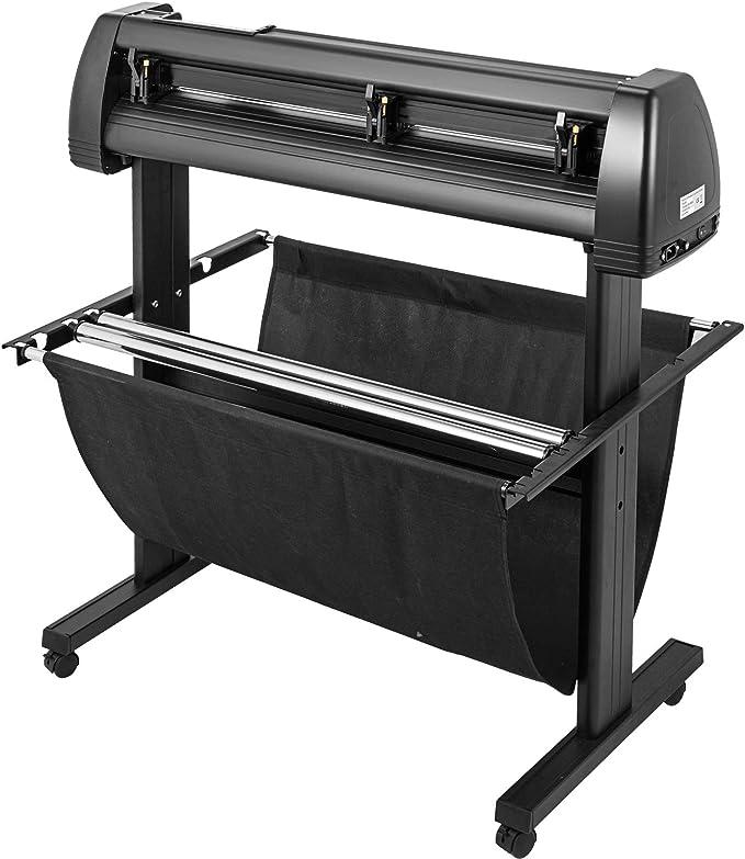 VEVOR Cortador de Vinilo de 34 Pulgadas máquina cortadora Manual de Vinilo Impresora LCD Display Plotter Cortador de señal con Software Signmaster y Accesorios: Amazon.es: Electrónica