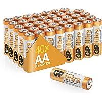 Gp Batteries Gp15Au Ultra Alkalin Lr6/E91/Aa Kalem Pil, 1.5 Volt, 40'Lı Paket