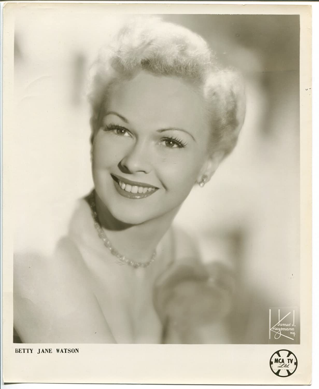 Betty Jane Watson