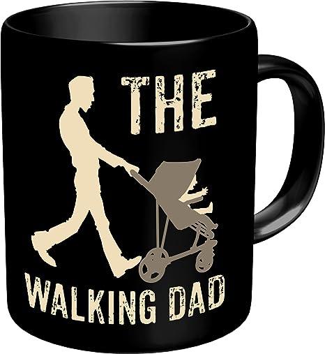 Rahmenlos Original Taza de café para el Activo Vater: The Walking Dad – En Caja De Cartón 2638: Amazon.es: Hogar