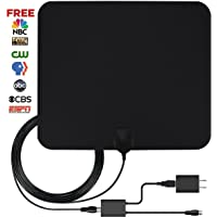 Frtech Digital Indoor HDTV Antenna with 50 Miles Range