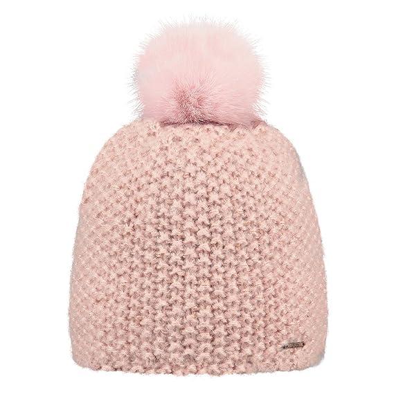 29204a4c49 BARTS - Bonnet pompon imitation fourrure rose tendre Enfant Fille 3 au 10  ans Barts: Amazon.fr: Vêtements et accessoires