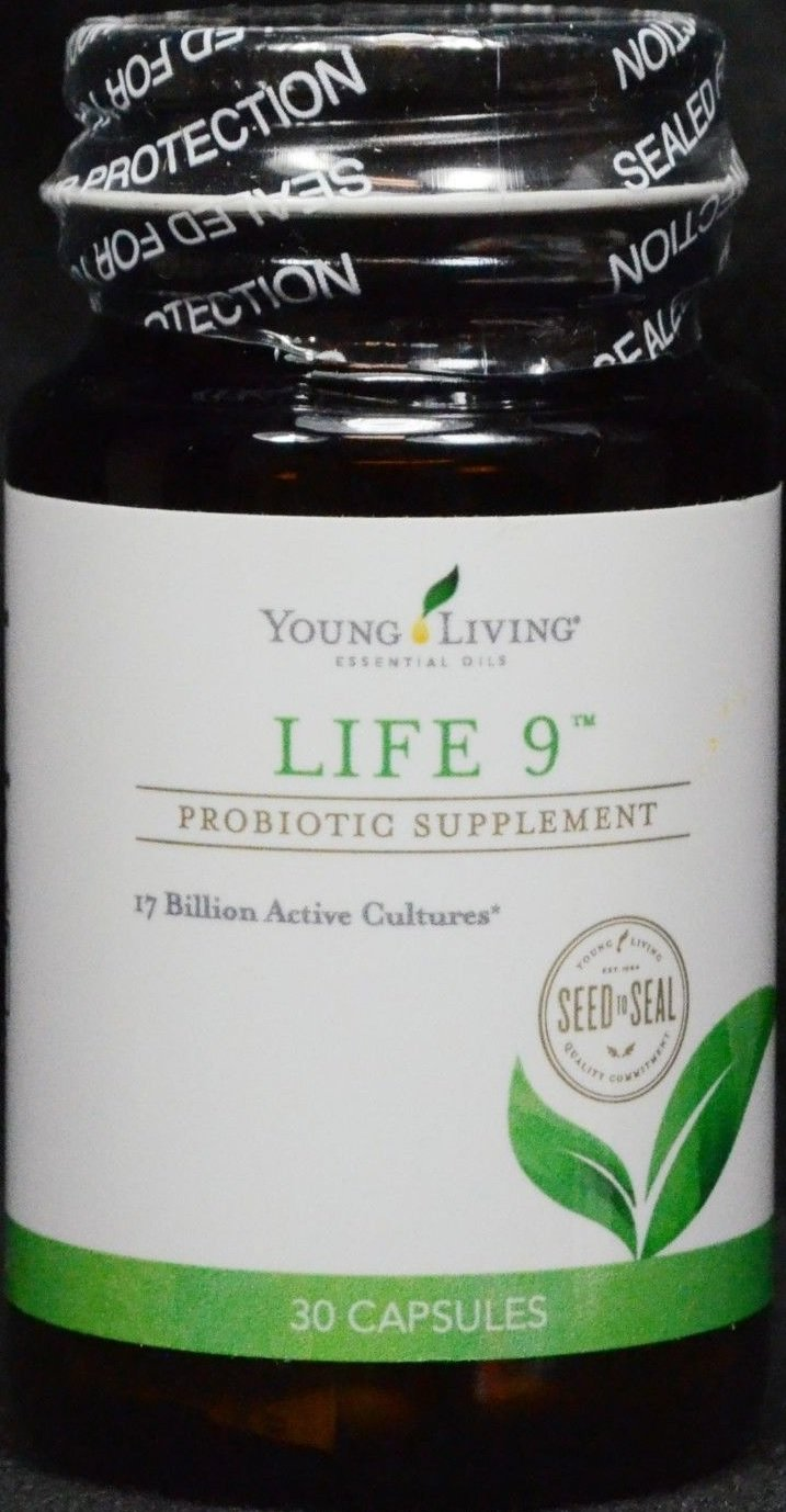 Life 9 Probiotic 30 capsules by Young Living Essentials Oils