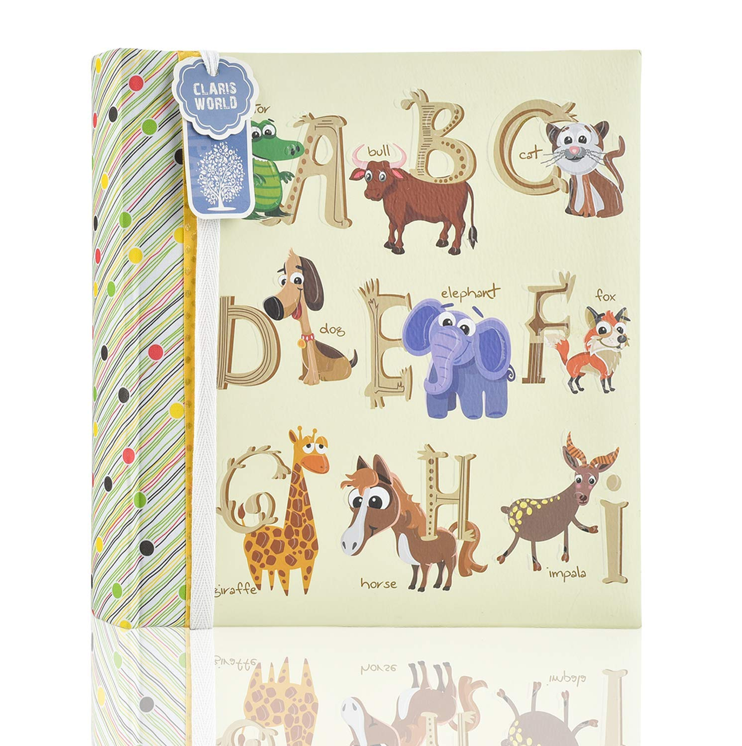 Baby Shower Present for Family Pink Woodland Animals 2 x Arpan 6x4 Baby Slip in Case Memo Photo Album for 200 Photos Ideal Gift for Christenings