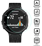 BlueBeach® Pack of 2 Tempered Glass Screen Protector Film for Garmin Forerunner 235 / 225 (0.3mm 2.5D 9H Hardness)