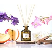 PRISTINE Inspired by Marriott Hotel Reed Diffuser   Reed Oil Diffuser, 50ml   Scented Diffuser with notes Apple…