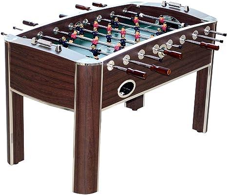 MD deportes Barrington (58 cm, casa de madera Gameroom futbolín mesa con accesorios: Amazon.es: Deportes y aire libre