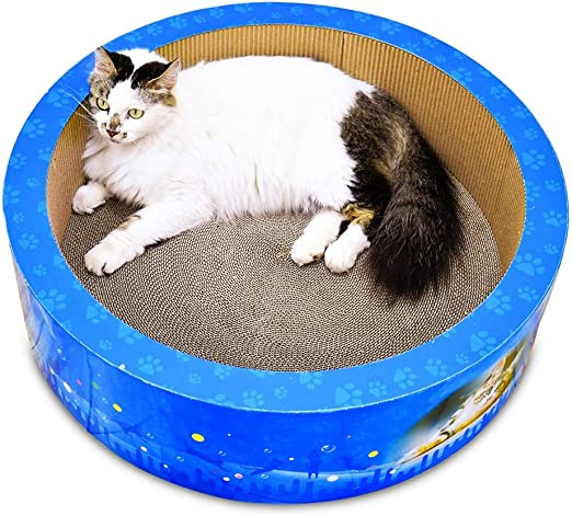QBYLYF Rascador para Gatos Tabla de Rascar para Gatos y Mascotas ...