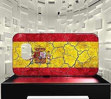 Funda Carcasa para Galaxy S6 Bandera ESPAÑA 03: Amazon.es: Electrónica