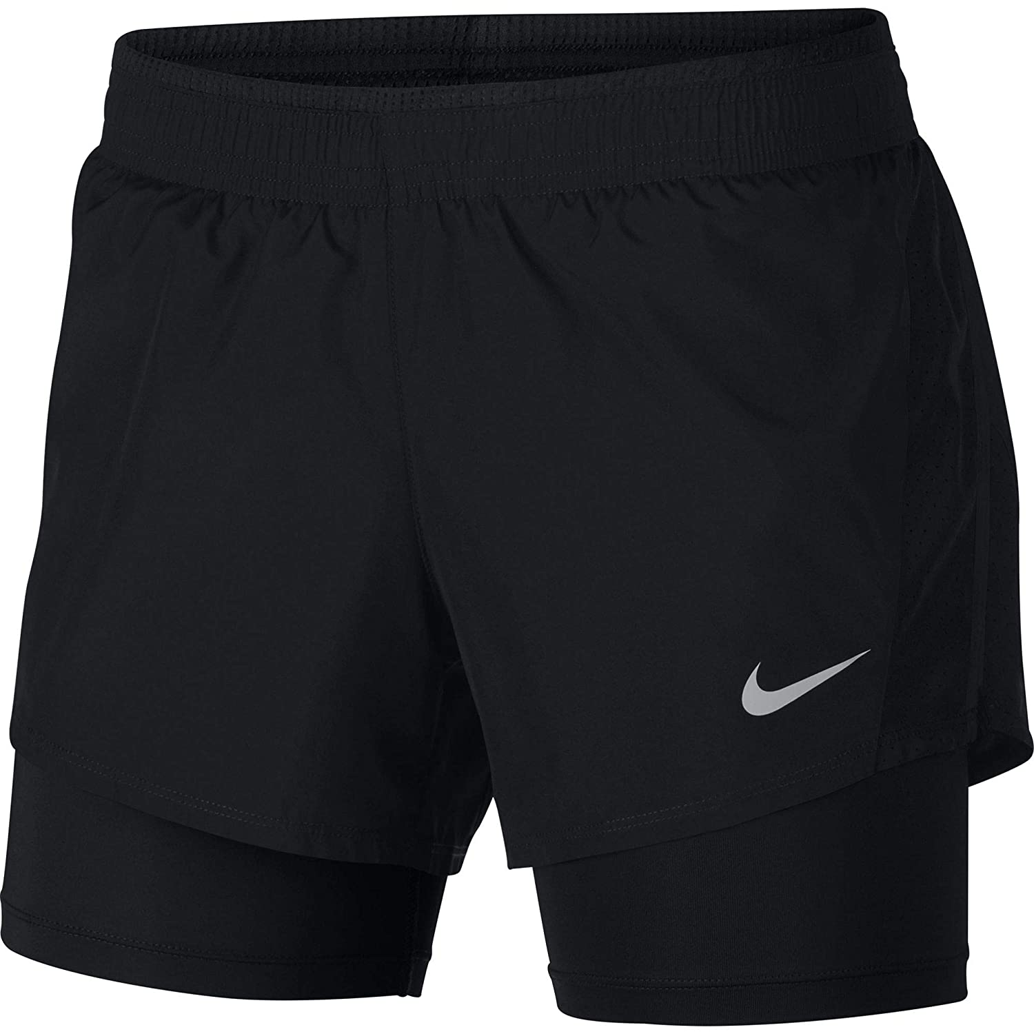 d6d4389ff88d6 Nike Women's Dry 10 K 2 in 1 Shorts, Womens, 902283-010: Amazon.co.uk:  Sports & Outdoors
