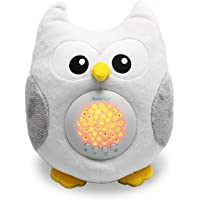 Baby Soother Cry Activated Sensor Toys Owl White Noise Sound Machine, Toddler Sleep Aid Night Light, Unique Baby Girl…