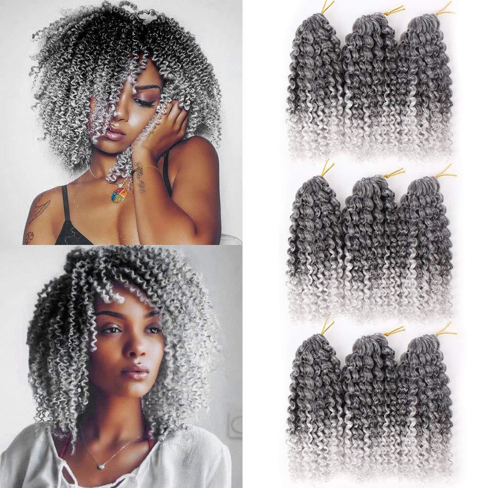 Amazon Com 9 Packs Marlybob Crochet Curly Hair Braids 8inch
