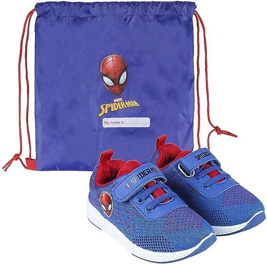 CERDÁ LIFES LITTLE MOMENTS Cerdá-Zapatillas de Spiderman para Niños de Color Azul