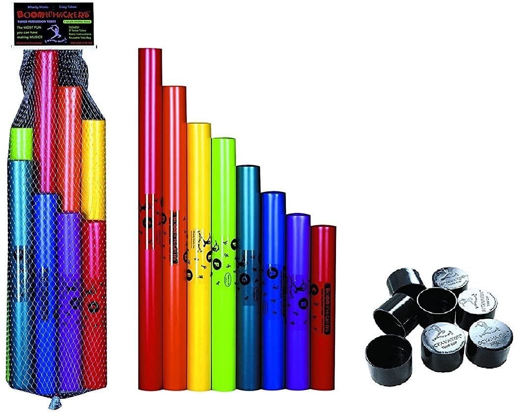 8 pc. Boomwhackers Boomwhackers OC-8G Octavator Caps