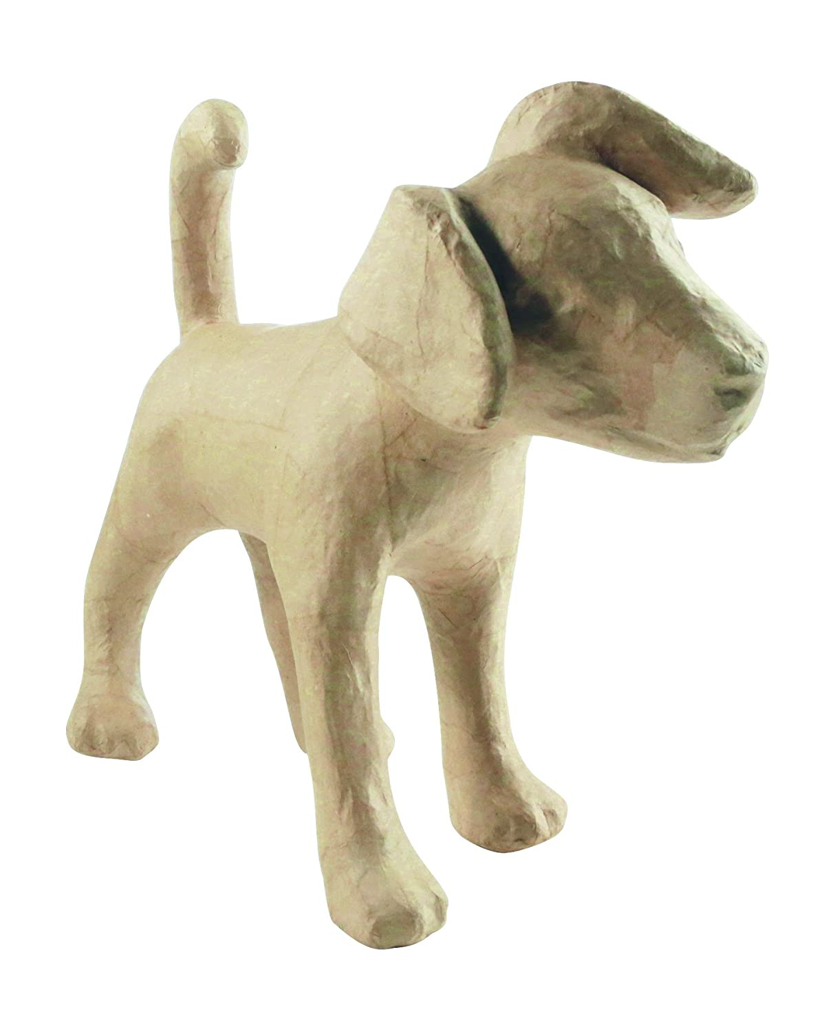 Decopatch LA008 Decoupage Papier Mache Animal Large Size Jack Russell Dog
