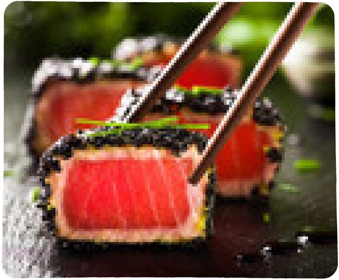 alfombrilla de ratón filete de atún frito en aceite de sésamo ...